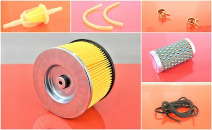 Obrázek vzduchový filtr sada pro Bomag vibrační deska BP20/50 D motor Hatz BP20/50D filtr filter filtre filtro set satz kit service servis reparatur wartung