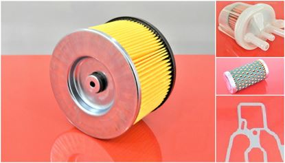 Picture of filter set of 2pcs for Bomag BPR 25/40 25/50 D and BPR25/40 BPR25/50 D fuel air filter - OEM quality maintanance service kit replace origin part no. 05728350 05723502