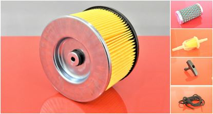 Obrázek sada filtrů do vibrační desky Bomag BPR 35/42 D motor Hatz 1B20 BPR35/42D sada top cena OEM kvalita filtr filter filtre filtro set satz kit service servis reparatur wartung