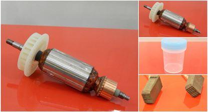 Image de ancre rotor Hitachi G 13 YC G13YC ohne Electronic remplacer l'origine / kit de service de maintenance de réparation haute qualité / balais de charbon et graisse gratuit