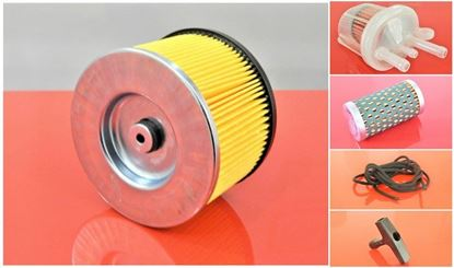 Obrázek servisní sada filtrů filtry pro Ammann AVP2620 s motorem Hatz 1B20-G Set1 filter filtre