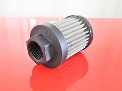 Obrázek hydraulický filtr sací filtr Kubota minibagr KX 91-3a motor Kubota D 1503MEBH3ECN filter filtre