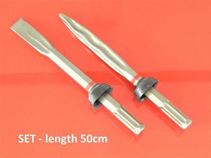 Image de sekáč a špice original sada HILTI TE905 TE805 TE1000 AVR TE1500 chissel set meisselsatz