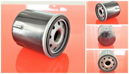 Obrázek olejový filtr pro Hitachi minibagr ZX 18 motor Isuzu filter filtre