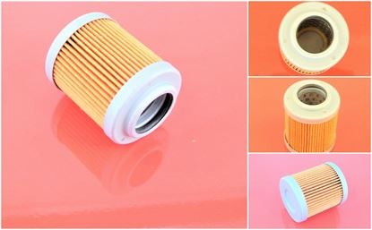 Picture of hydraulický filtr před řídící pro Fiat-Hitachi FH 45.2 motor Kubota D1105 filter filtre