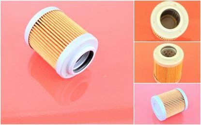 Obrázek hydraulický filtr před řídící pro Hitachi minibagr ZX 18 motor Shibaura E673L-C filter filtre