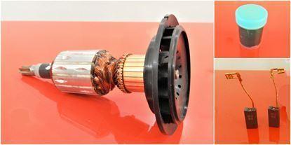Image de ancre rotor ventilateur Bosch GBH38 GBH 38 GSH 4 GSH 5-CE remplacer l'origine 10180 + roulement à billes / kit de service de maintenance de réparation haute qualité / balais de charbon et graisse gratuit