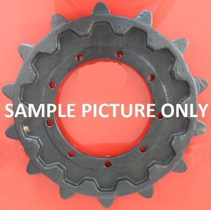 Imagen de sprocket rueda motriz 270/16/21/590/56 fits Atlas Terex Bobcat 1205 TC125 TC210LC 444