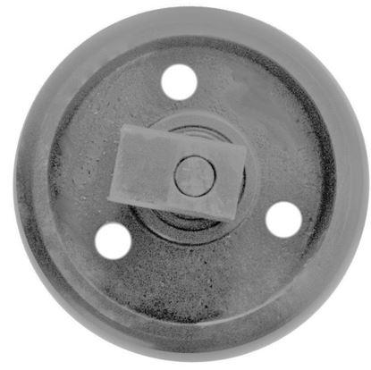 Image de Roue folle incl. supports - hauteur totale de la roue 227/263mm fits Bobcat E16 321 323 X323 X320 2 X322 X322D Hanix H15A Schaeff HR12 and others