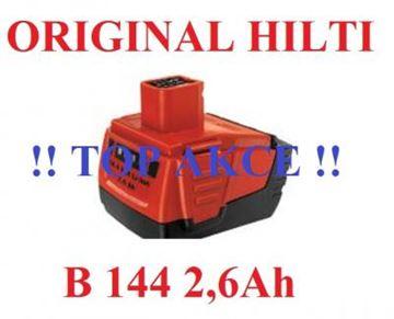 Image de HILTI baterie akumulátor B144 2.6 Li-Ion CP SIW SID SF144 273114 SFH144A SID144A SFL144A