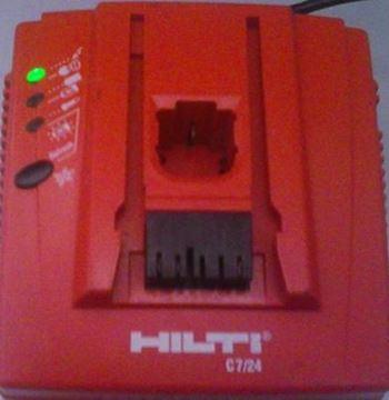 Picture of Hilti nabíječka C 7/24 C7/24 C724 230V použitá ale v TOP STAV charger Ladegerät