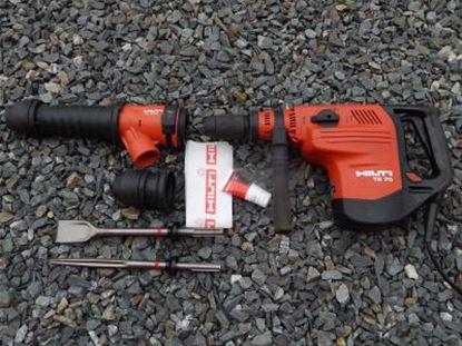 Image de HILTI TE 70-AVR TE70AVR kombinované kladivo 8kg použité v TOP stavu kufr příslušenství
