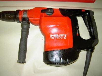 Image de HILTI TE 76 ATC TE76ATC bourací a vrtací kladivo 8kg 6měs záruka - kladivo je předchůdce stroje TE70 TE70ATC TE70AVR