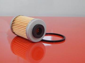 Obrázek olejový filtr do Weber TC 72 SE desky s motorem Hatz 1D81