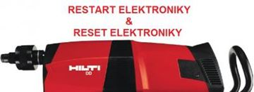 Bild von oprava elektroniky reset DD 200 Hilti DD 300 350 DD 500 DD200 DD300 DD350 DD500 vrtačka Rückstellung der Elektronik