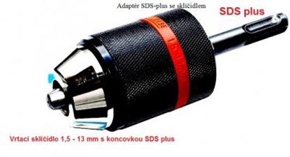 Obrázek adaptér do Dewalt SDS-plus se sklíčidlem rychloupínací hlava NEW