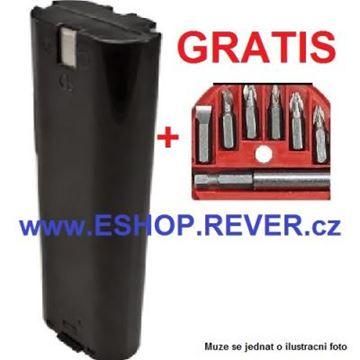 Obrázek akumulátor MAKITA 3000 DW 3700 D DW 7,2V 1,3A náhradni baterie