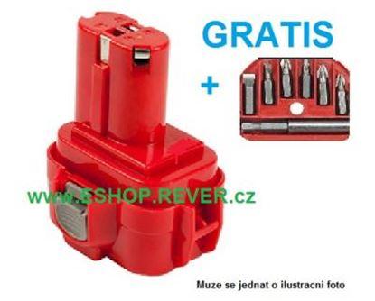 Obrázek akumulátor MAKITA 6207 D DWDE 6207D 9,6V 2Ah náhradni baterie