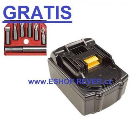 Imagen de akumulátor MAKITA BDF 450 451 451Z BDF452 náhradni baterie AKCE