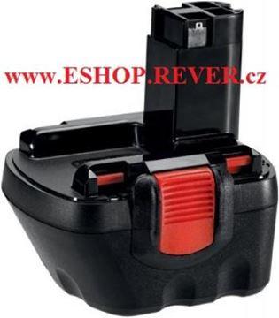 Obrázek Bosch Akumulátor baterie 12 V 1,2 Ah NiCd original 2607335526