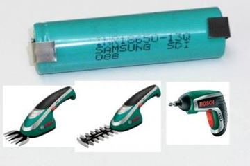 Immagine di Bosch akumulátor baterie IXO a ISIO 3,6 V Li-Ion AKCE nahradí Bosch-samsung 1300 mAh