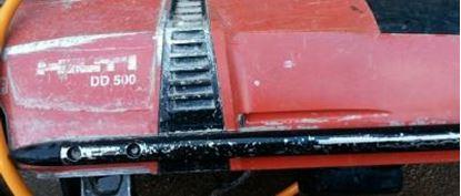 Image de Diamantová jádrová vrtačka Hilti DD 500 DD500 -400V použitý stroj