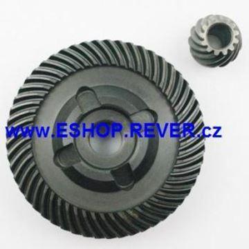 Obrázek převod kolo do Bosch GWS 23-180 23-230 24-180 24-230 nahradí 33618 33237 mazivo 180mm