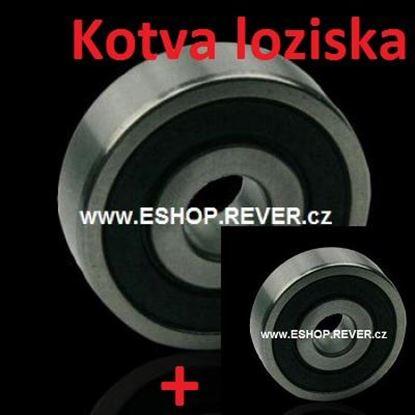 Bild von Kugellager Satz für Anker Rotor Makita HR 4001 C HR4001 C ersetzt original (ekvivalent) Wartungssatz Reparatursatz Service Kit hohe Qualität