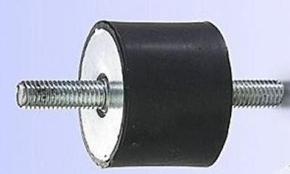 Imagen de silentblok 15x15 M4x10 pro vibrační deska pěch stavební stroj ad