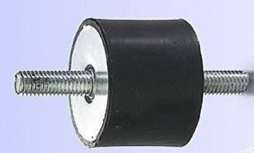 Obrázek silentblok 20x20 M6x18 pro vibrační deska pěch stavební stroj ad