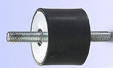 Obrázek silentblok 40x40 M8x23 pro vibrační deska pěch stavební stroj ad