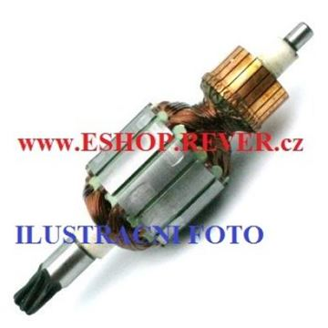 Picture of armature rotor DWT SBH 750 TS SBH 750 DS SBH 750 DSL replace origin / maintenance repair service kit high quality /