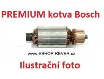 Obrázek kotva Bosch GEX 150 GEX150 TURBO nahradí originál rotor PREMIUM - rotor anker armature armadura armatura Reparatursatz Wartungssatz service repair kit