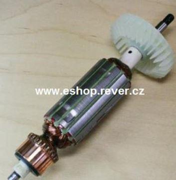 Bild von Anker Rotor Metabo W 6 115 W6115 W6-115 ersetzt original (ekvivalent) Wartungssatz Reparatursatz Service Kit hohe Qualität Fett und Kohlebürsten GRATIS