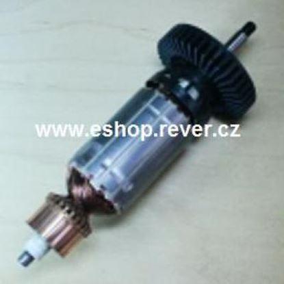 Image de ancre rotor Metabo W WP WPS 7-115 7-125 Quick remplacer l'origine / kit de service de maintenance de réparation haute qualité / balais de charbon et graisse gratuit