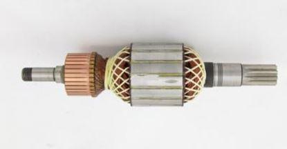 Bild von Anker Rotor Bosch GSH16-28 GSH 16-30 16-28 GSH16-30 ersetzt original 1614011117 (ekvivalent) Wartungssatz Reparatursatz Service Kit hohe Qualität Fett und Kohlebürsten GRATIS