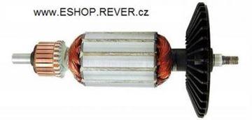Obrázek kotva rotor Bosch GEX 150 AC GEX 125 A AC nahradí 2604011028 GEX150 AC GEX150AC GEX125 GEX125A GEX125AC + uhlíky mazivo GRATIS - armature anker armadura armatura Reparatursatz Wartungssatz service repair kit