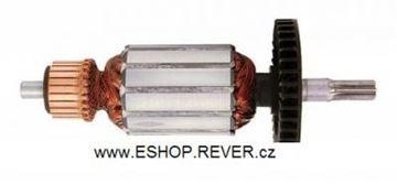Obrázek kotva rotor Bosch PBH160R PBH200RE nahradí 1614010144 uhlíky mazivo GRATIS - armature anker armadura armatura Reparatursatz Wartungssatz service repair kit
