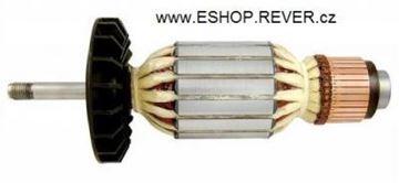 Obrázek kotva rotor do Bosch GWS 19-180 19-230 20-180 20-230 21-180 21-230 JS S 1148 uhlíky mazivo - armature anker armadura armatura Reparatursatz Wartungssatz service repair kit