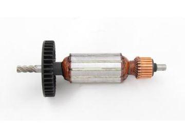 Bild von Anker Rotor Makita HP2030 HP2031 HP2032 HP2033 ersetzt original (ekvivalent) Wartungssatz Reparatursatz Service Kit hohe Qualität Fett und Kohlebürsten GRATIS