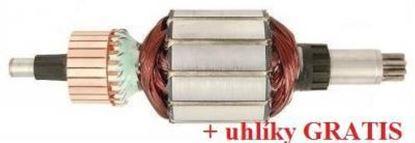 Bild von Anker Rotor HILTI TE 106C TE106C TE106 C ersetzt original (ekvivalent) Wartungssatz Reparatursatz Service Kit hohe Qualität Fett und Kohlebürsten GRATIS