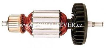 Bild von Anker Rotor Makita 9069 2000W ersetzt original 516773-0 (ekvivalent) Wartungssatz Reparatursatz Service Kit hohe Qualität Fett und Kohlebürsten GRATIS