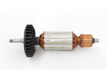Image de ancre rotor Makita 9554 NB 9555 NB remplacer l'origine 515619-7 / kit de service de maintenance de réparation haute qualité / balais de charbon et graisse gratuit