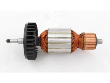 Bild von Anker Rotor Makita GA 9040 S GA 7040 S ersetzt original 516958-8 (ekvivalent) Wartungssatz Reparatursatz Service Kit hohe Qualität Fett und Kohlebürsten GRATIS