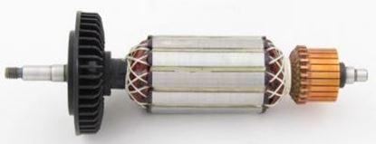 Image de ancre rotor ventilateur Metabo W9-125 W9-115 900W remplacer l'origine / kit de service de maintenance de réparation haute qualité / balais de charbon et graisse gratuit