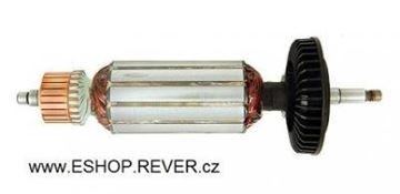 Obrázek kotva rotor Metabo bruska WE 14-125 Plu nahradí 310009170 uhlíky - armature anker armadura armatura Reparatursatz Wartungssatz service repair kit