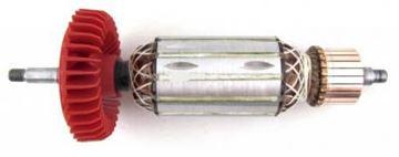Bild von Anker Rotor Lüfter Metabo W8-100 W8-115 W8-125 Quick ersetzt original 310009040 (ekvivalent) Wartungssatz Reparatursatz Service Kit hohe Qualität Fett und Kohlebürsten GRATIS