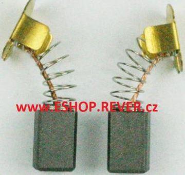 Obrázek Makita BGA 452 BGA452 kartáče nahradí original uhlíky BCS 550 BJV 140 BJV 180 BSS 500 6,9 x 7,2 x 11,5 pro akumulátorové nářadí MK034