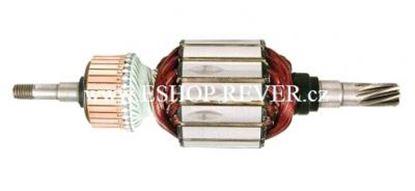 Bild von Anker Rotor Makita HR 5001 C HR5001 C ersetzt original 516778-0 (ekvivalent) Wartungssatz Reparatursatz Service Kit hohe Qualität Fett und Kohlebürsten GRATIS