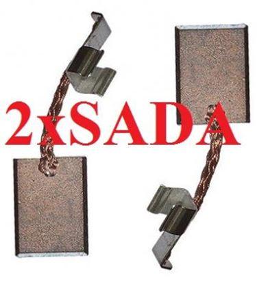 Image de Makita uhlíky CB440 CB 436 CB 440 3x10mm nahradí 194427-5 2x